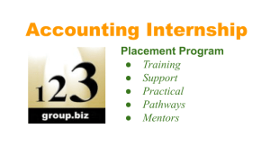 Accounting Internships for cheap accounting and good future employees using Xero, QuickBooks & MYOB Accounting software - 123 Group