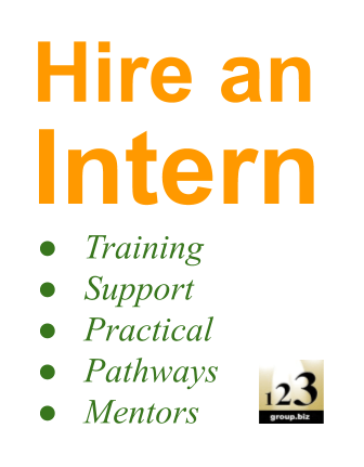 Cheap bookkeeping, cheap digital marketing, hire an intern, get HR support - 123 Group Pty Ltd