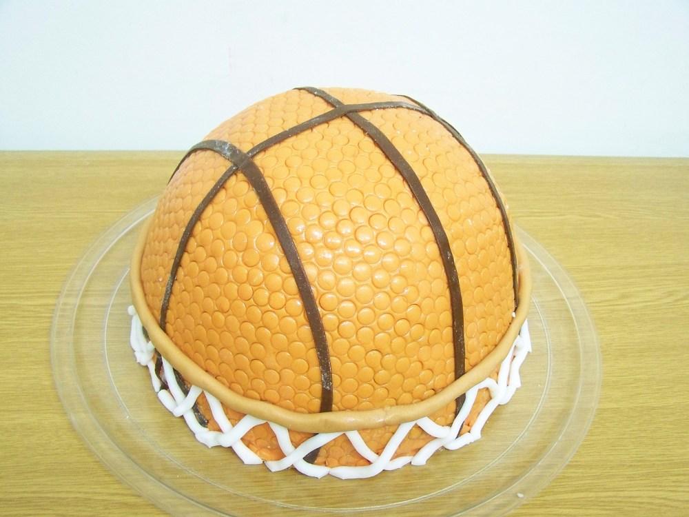 Basketball cakes (2/2)
