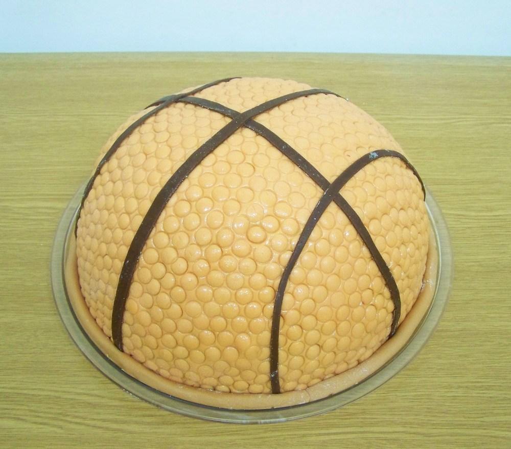 Basketball cakes (1/2)