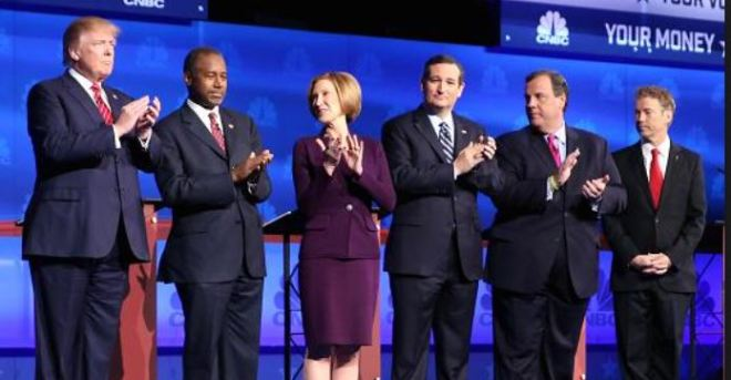 GOP Debate on CNBC