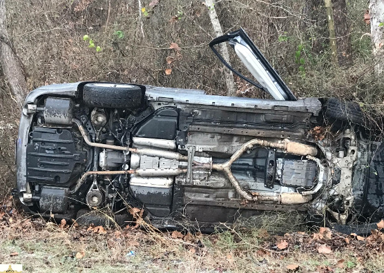 Car crashes on Hwy  9 north of Creston | Natchitoches Parish