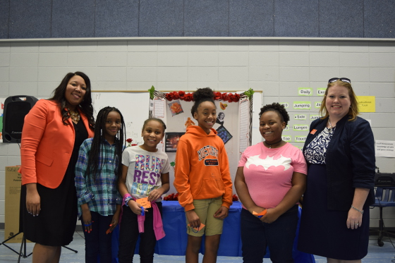 Megan Helaire, Martinique Lacy, Kimora Hardwell and Diamond Smith