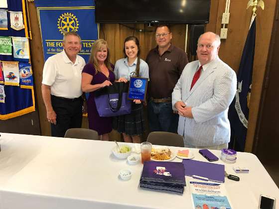 Rotary_SMS Student of the Month