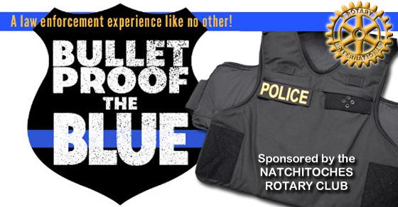 Bulletproof vest fundraiser