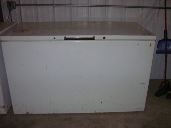 Cane River Food Pantry Freezer 1
