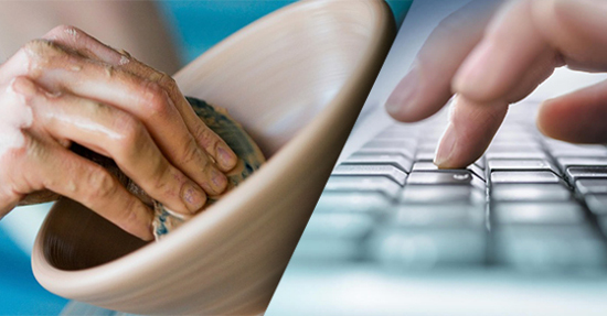 Ceramics and web design