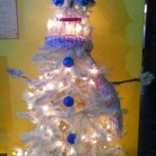 Kimberly's Snowman Tree