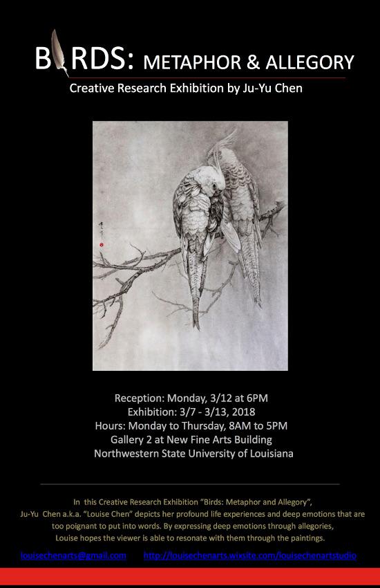 Ju-Yu Chen Exhibition Flyer