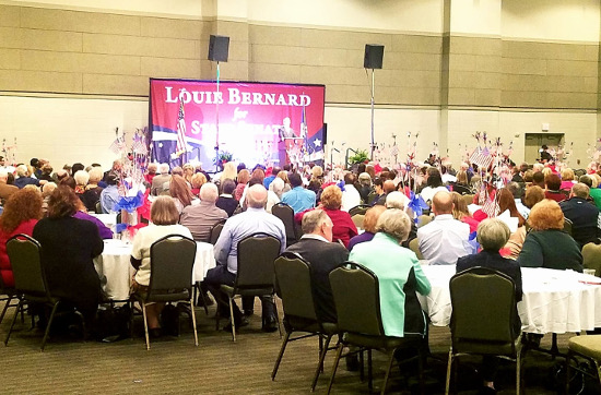 Louie Bernard Event