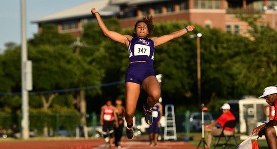 Jasmyn Steels Long Jump