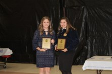Cadie Coleman and Salem Johnson qualified for State Literary Rally in Ag. II & Ag. III.