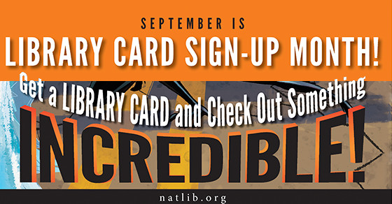Library Card Month
