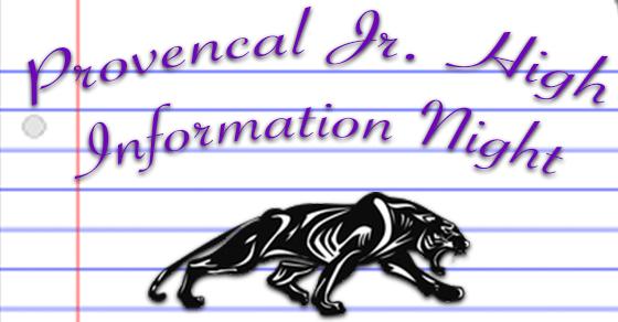 Provencal Information Night