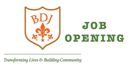 BDJ Job Opening