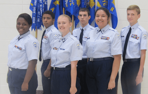 Lakeview Cadet Master Sergeants