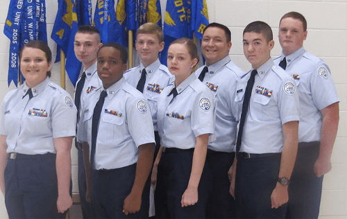 Lakeview Cadet Staff Sergeants