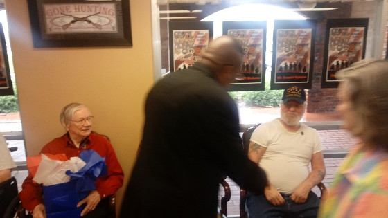 Walters Greets Vets 2018