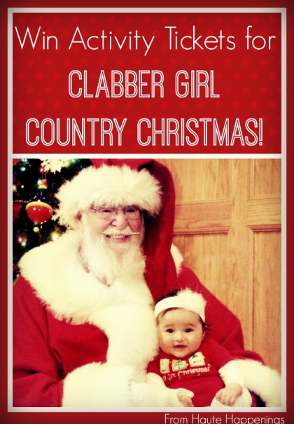 Clabber Girl Country Christmas--Info and Giveaway from Haute Happenings