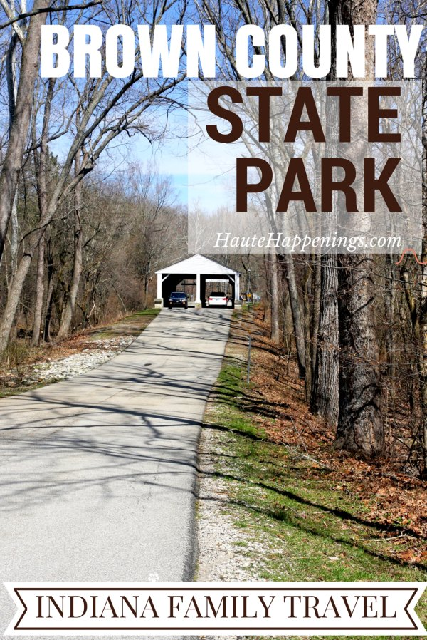 Cabins, water slides, trails and more! Things to do with kids at Brown County State Park