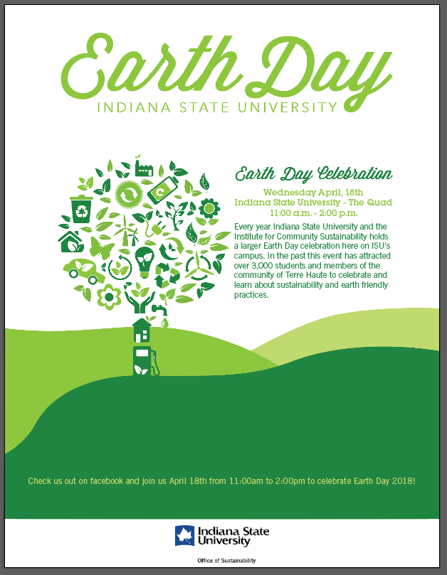 Earth Day 2018 at Indiana State University