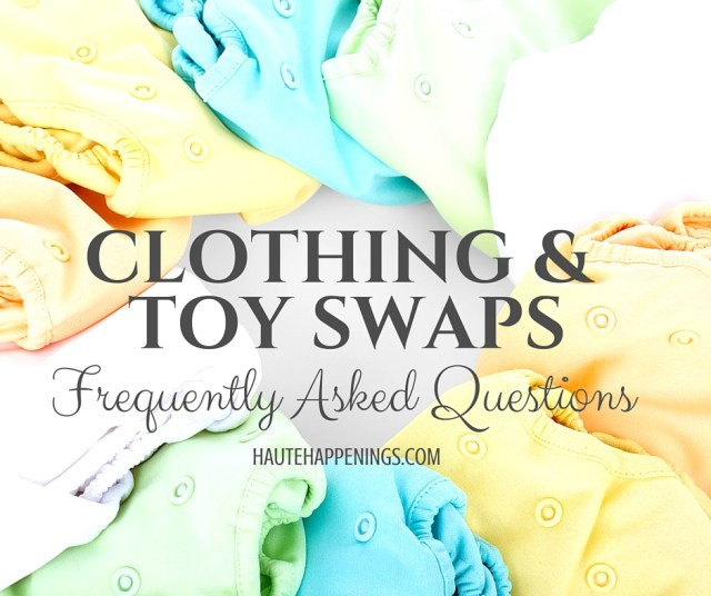 Your town needs a FREE toy and clothing swap. Here's how to make it happen.