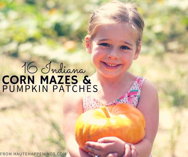 Corn Mazes and Pumpkin Patches Near Terre Haute and the Wabash Valley