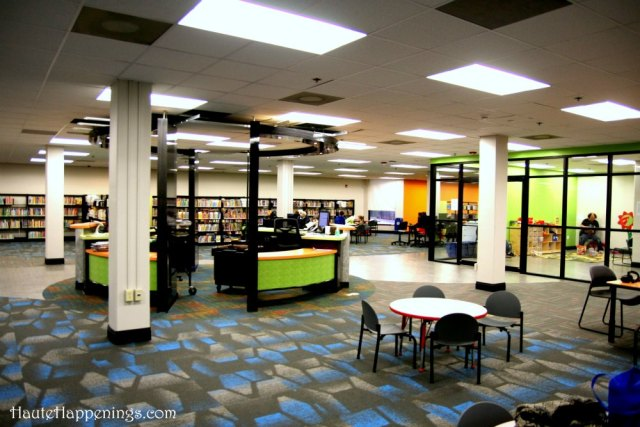 New indoor play area in Terre Haute at the Vigo County Public Library
