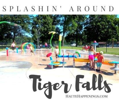 Splashin' Around Tiger Falls Splash Park in Paris, IL