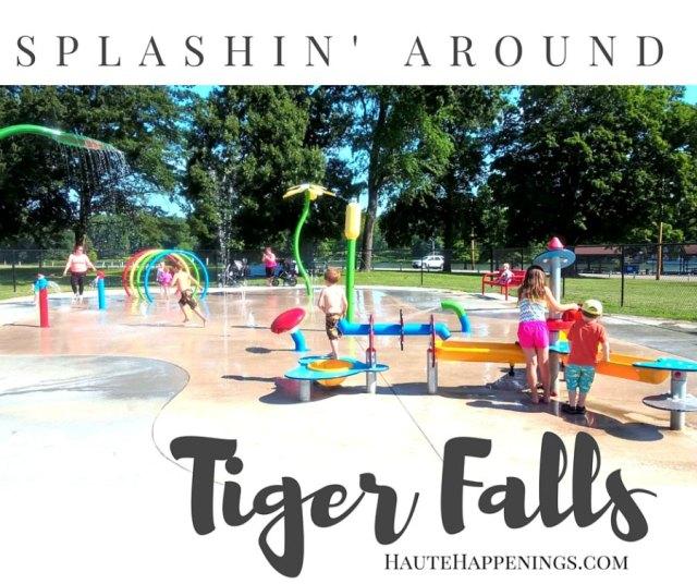 Splashin' Around Tiger Falls Splash Park in Paris, Illinois!