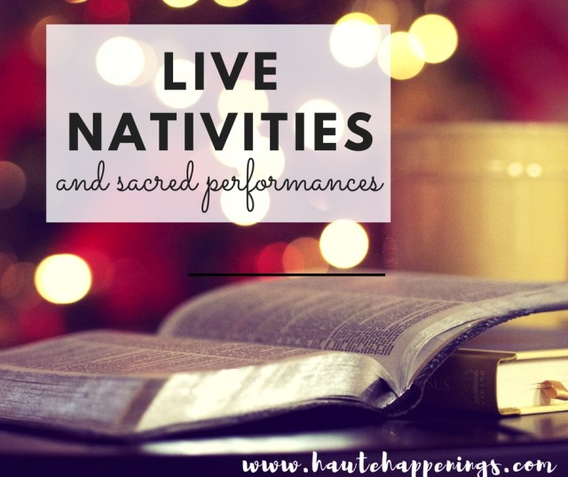 Terre Haute Live Nativities and Sacred Holiday Performances