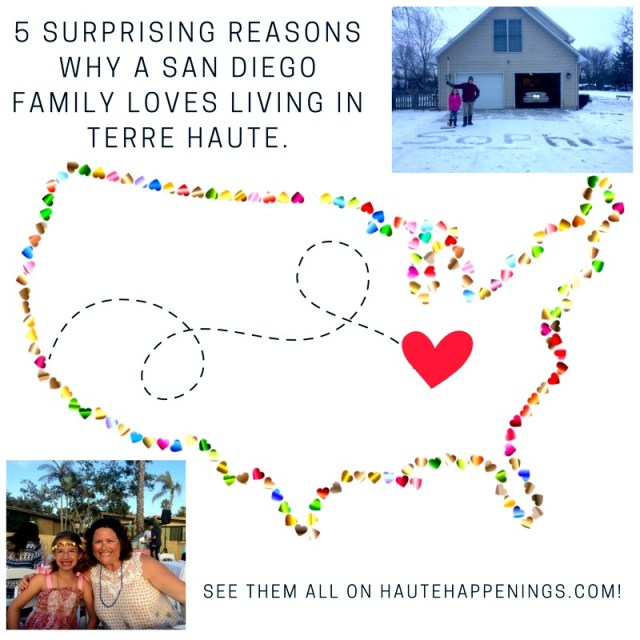 5 Reasons to love Terre Haute---as told by a family from San Diego!