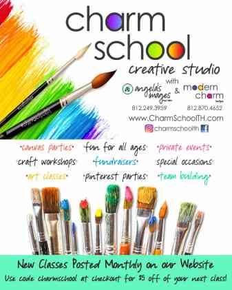 Charm School Summer Art Classes in Terre Haute, IN