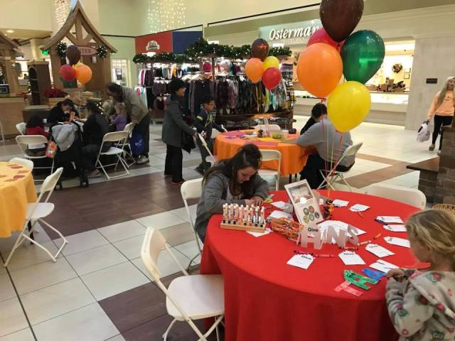 Family Fun Night at the Honey Creek Mall with the Vigo County Public Library
