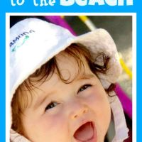 Baby Beach Bum--Tips for Taking Baby to the Beach