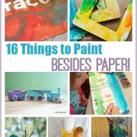 16 Things to Paint Besides Paper