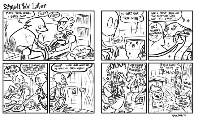 COMIC-Smell-Yuh-Later