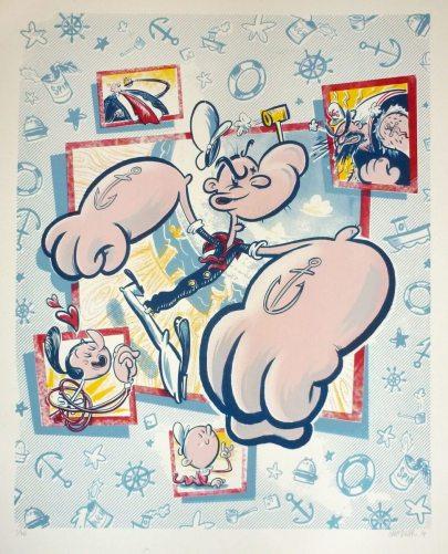 Popeye Print