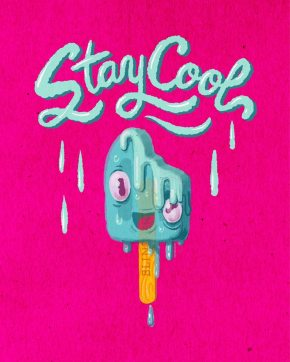 STAY COOL - POPSICLE PRINT
