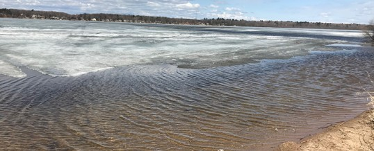 Ice is Starting to Decline in the Brainerd Lakes Area