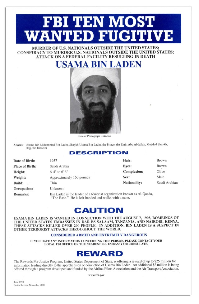 Fbi Wanted Poster Generator - FREE DOWNLOAD - Aashe