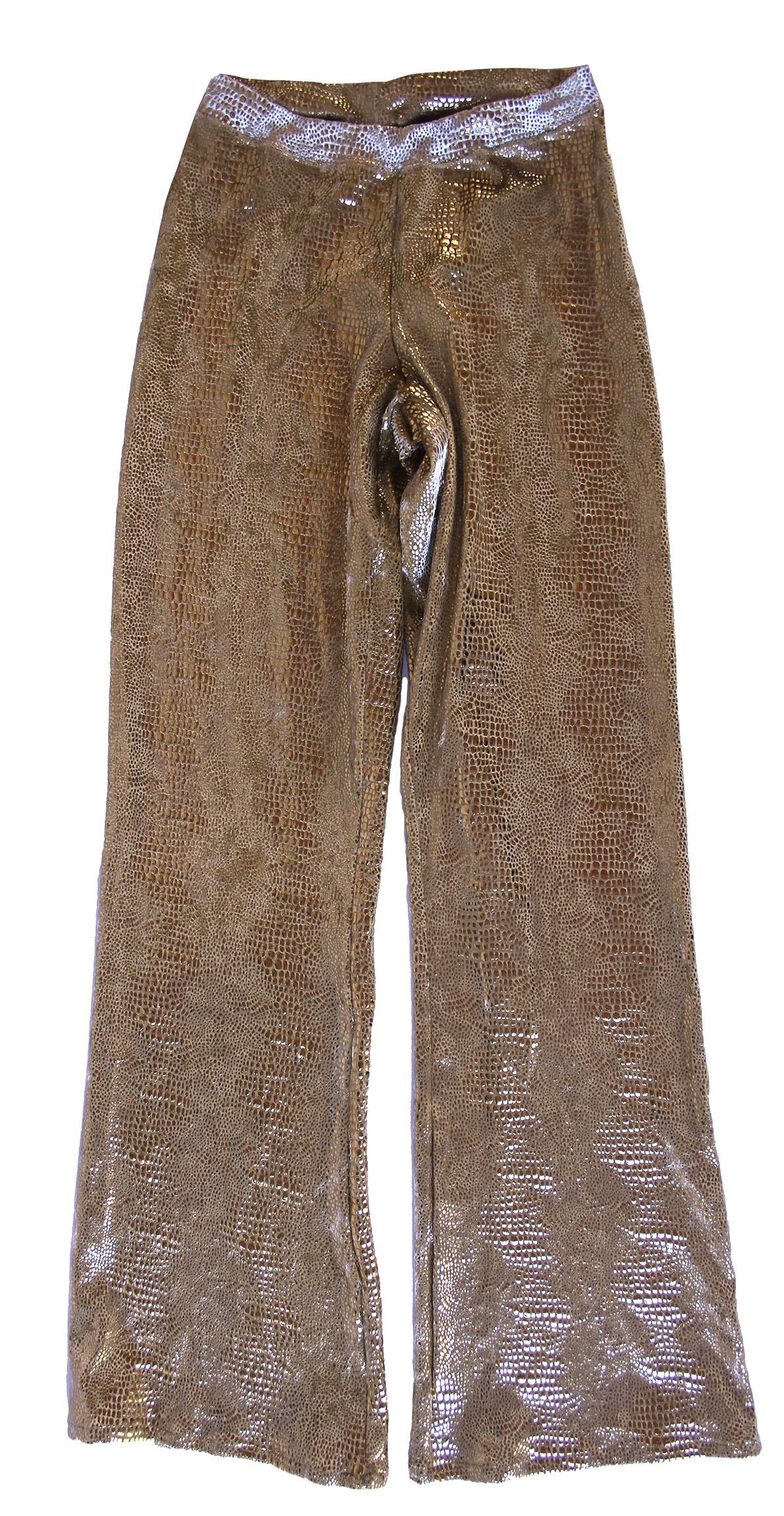 Lot Detail Prince Stage Worn Gold Mesh Shirt Amp Pants