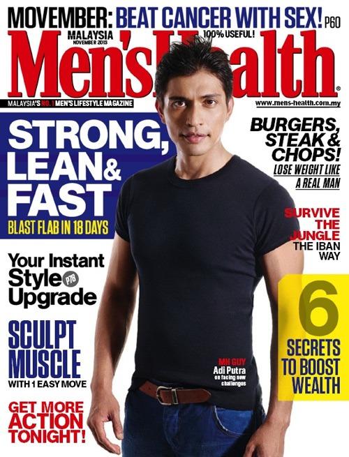 Men's Health Cover - November 2013 - Malaysia