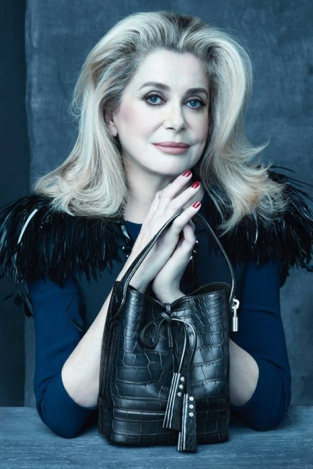 Catherine Deneuve for Louis Vuitton by Marc Jacobs
