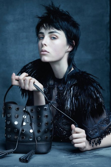 Edie Campbell  for Louis Vuitton by Marc Jacobs