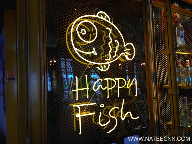 HAPPY FISH BAR & BISTRO at ASIATIQUE THE RIVER FRONT