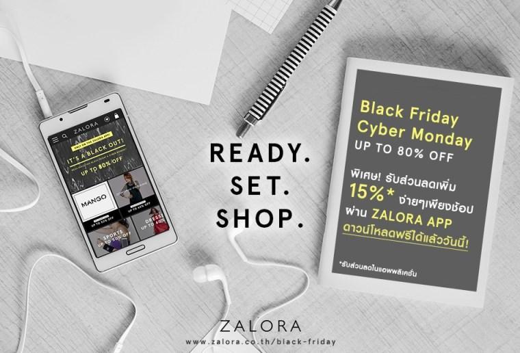 PR   ZALORA Black Friday Cyber Monday campaign