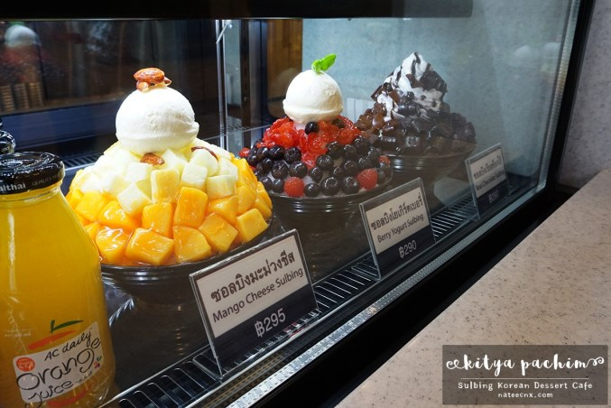 Bingsu Menu | Sulbing Korean Dessert Cafe, Siam Square