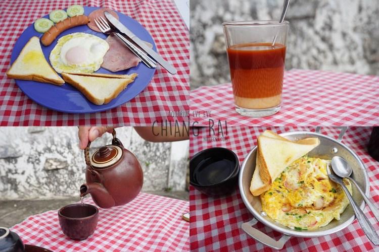 Breakfast at Yellow Car Coffee   Chiang Rai