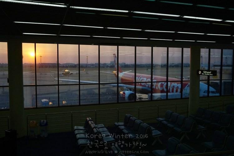 Thai AirAsia X, Flight XJ 708, at Gate 15 Don Muang International Airport (DMK)